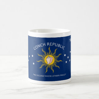 Conch Republic Flag Coffee Mug