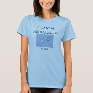 Conch Republic Key West  USA Women's T-Shirt