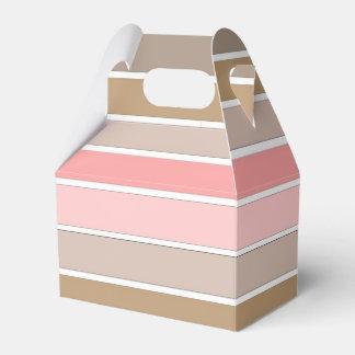 Conch Seashell Colors Favor Box