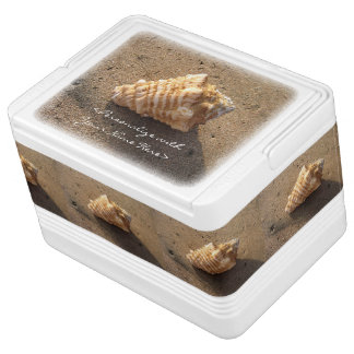 Conch Seashell Ocean Beach Custom Igloo Cooler