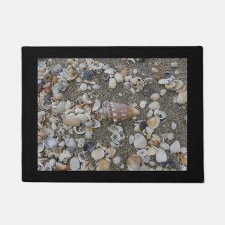 Conch Seashell Treasure Doormat