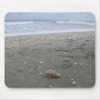Conch Seashell Treasure Mouse Pad