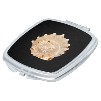 Conch Shell Compact Mirror