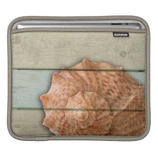 Conch Shell iPad Sleeves
