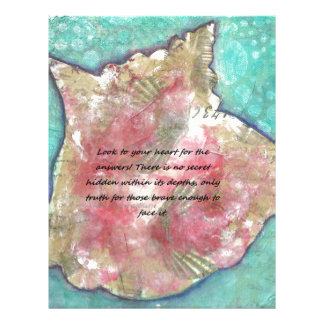 Conch shell letterhead
