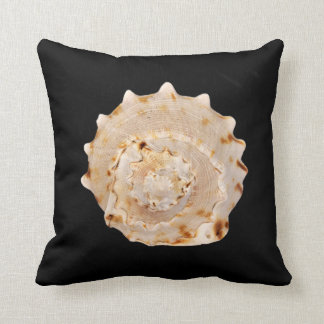 Conch Shell Throw Cushion