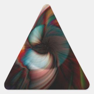 Conch Triangle Sticker