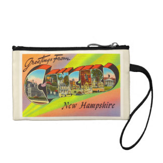 Concord New Hampshire NH Vintage Travel Souvenir Coin Purses