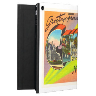 Concord New Hampshire NH Vintage Travel Souvenir iPad Air Cover