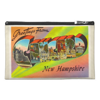 Concord New Hampshire NH Vintage Travel Souvenir Travel Accessory Bags