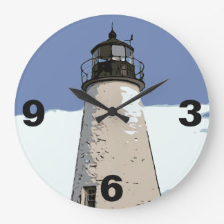 CONCORD POINT LIGHT LARGE CLOCK