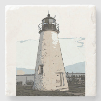 CONCORD POINT LIGHT STONE COASTER