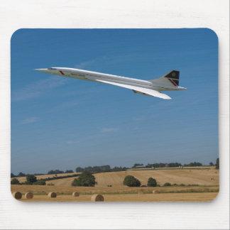 Concorde design mouse pad