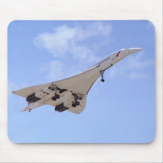 Concorde G-BOAF Mouse Pad