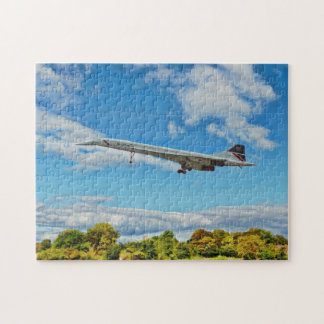 Concorde on Finals Jigsaw Puzzle