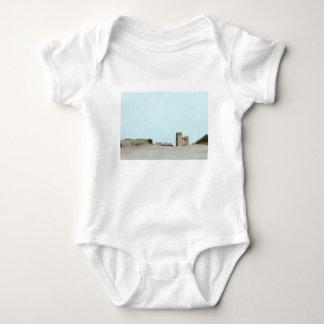 Concrete and sand baby bodysuit