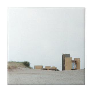 Concrete and sand ceramic tile