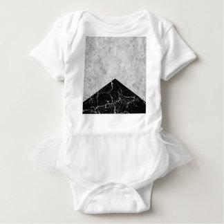 Concrete Arrow Black Granite #844 Baby Bodysuit