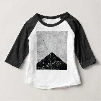 Concrete Arrow Black Granite #844 Baby T-Shirt
