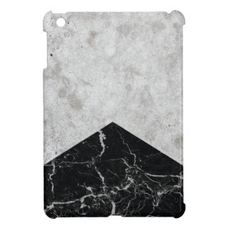 Concrete Arrow Black Granite #844 iPad Mini Cover