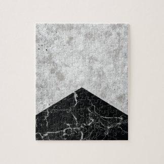 Concrete Arrow Black Granite #844 Jigsaw Puzzle