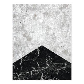 Concrete Arrow Black Granite #844 Letterhead