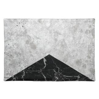 Concrete Arrow Black Granite #844 Placemat