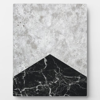 Concrete Arrow Black Granite #844 Plaque
