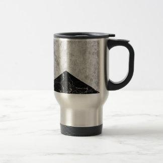 Concrete Arrow Black Granite #844 Travel Mug