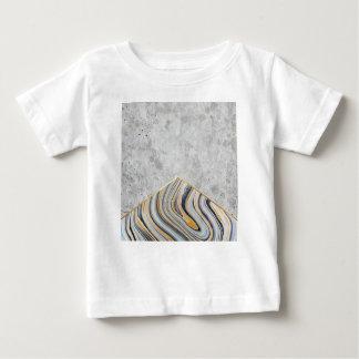 Concrete Arrow Blue Marble #177 Baby T-Shirt