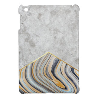 Concrete Arrow Blue Marble #177 iPad Mini Cover