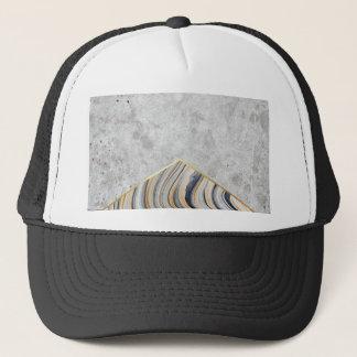 Concrete Arrow Blue Marble #177 Trucker Hat