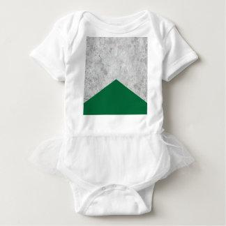 Concrete Arrow Forest Green #326 Baby Bodysuit