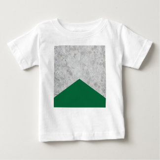 Concrete Arrow Forest Green #326 Baby T-Shirt