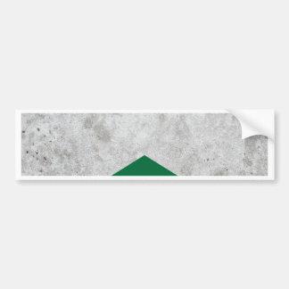 Concrete Arrow Forest Green #326 Bumper Sticker