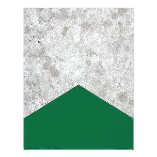 Concrete Arrow Forest Green #326 Letterhead