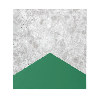 Concrete Arrow Forest Green #326 Notepad