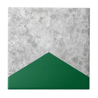 Concrete Arrow Forest Green #326 Tile