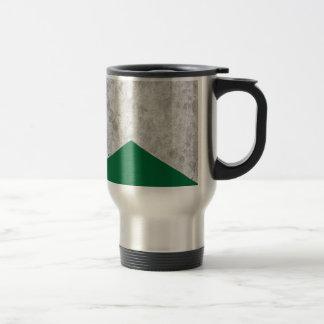 Concrete Arrow Forest Green #326 Travel Mug