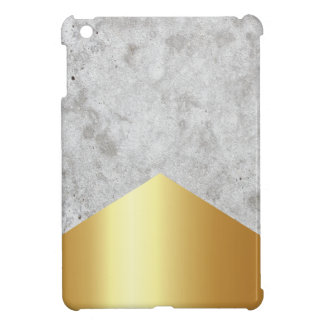 Concrete Arrow Gold #372 iPad Mini Cover