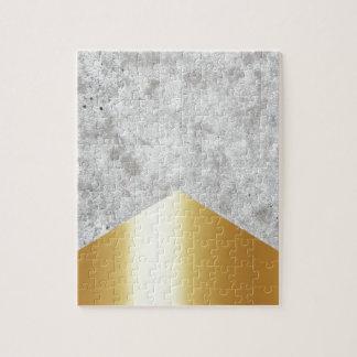 Concrete Arrow Gold #372 Jigsaw Puzzle