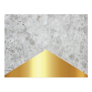 Concrete Arrow Gold #372 Postcard