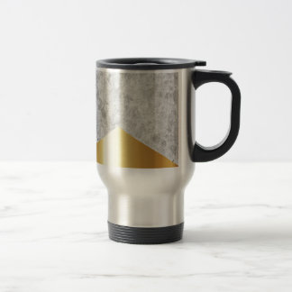 Concrete Arrow Gold #372 Travel Mug