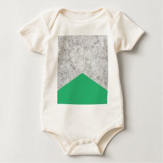Concrete Arrow Green #175 Baby Bodysuit