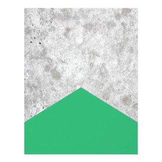 Concrete Arrow Green #175 Letterhead