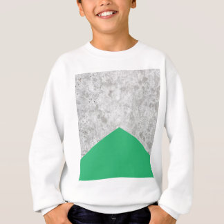 Concrete Arrow Green #175 Sweatshirt
