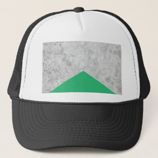 Concrete Arrow Green #175 Trucker Hat
