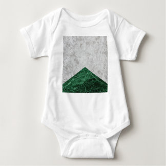 Concrete Arrow Green Granite #412 Baby Bodysuit