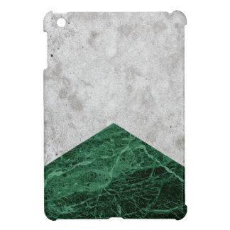 Concrete Arrow Green Granite #412 iPad Mini Cover