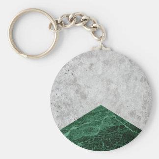 Concrete Arrow Green Granite #412 Keychain